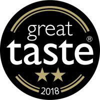 Great Taste Awards 2 Gold Stars 2018